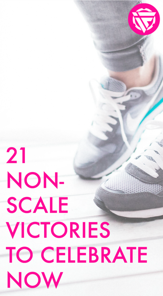Non-scale victories are something you can celebrate on your fitness or weight loss journey.