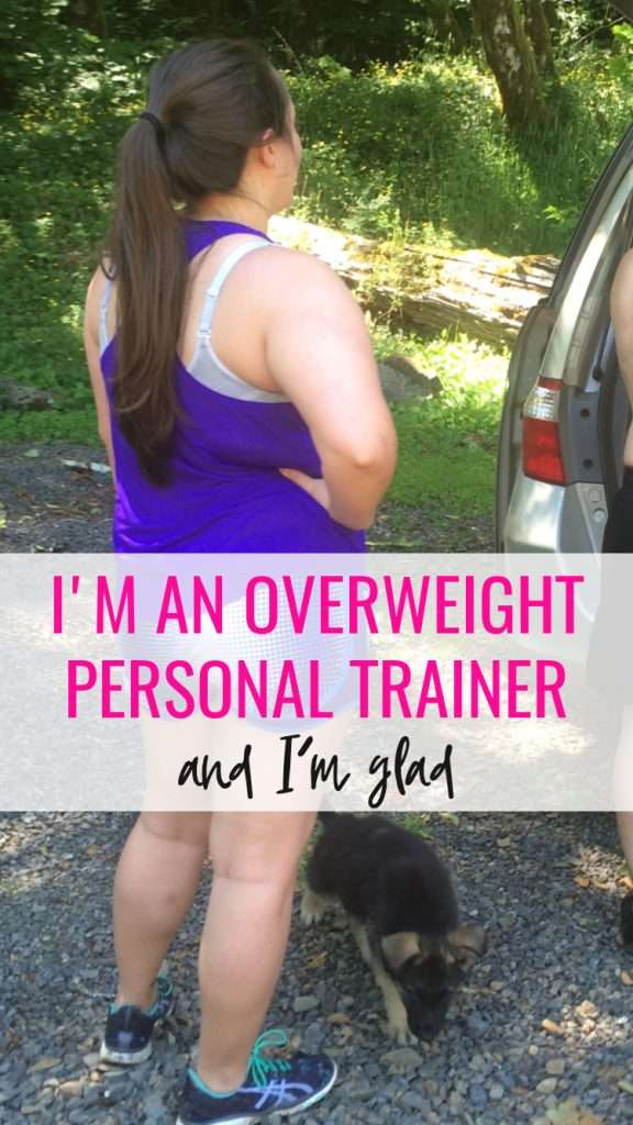 I'm an overweight personal trainer - and I'm glad. Find out why I think being overweight and having plenty of struggles is a good thing.