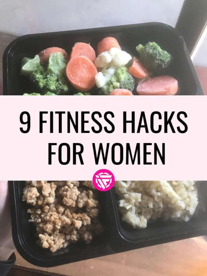 Fitness hacks for women