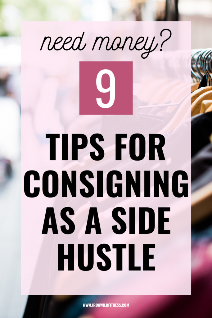 TIPS FOR CONSIGNING AS A SIDE HUSTLE